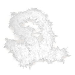 White Feather Boa | Party Supplies