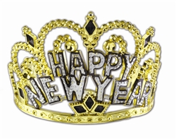 Gold Crown Tiara | New Year's Eve Party Favors