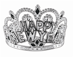 Silver Crown Tiara | New Year's Party Favors