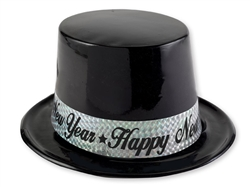 Black & Silver Top Hats