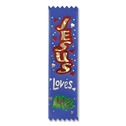 Jesus Loves Me Value Pack Ribbons