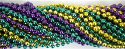 Purple, Green & Gold Party Beads