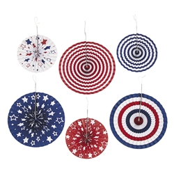 4th of July Hanging Decorations for Sale