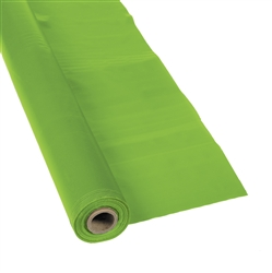 Lime Green Tablecloth Roll