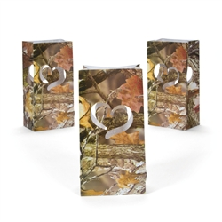 CAMO WEDDING LUMINARY BAGS