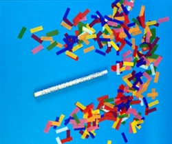 "14"" Flutter FETTI Confetti Sticks 