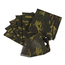 CAMOUFLAGE BANDANNA ASSORTMENT