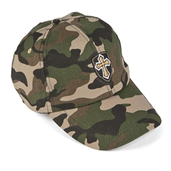 CAMO CROSS BASEBALL HAT