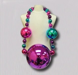 Pink, Purple and Turquoise Jumbo Beads