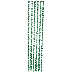 Mini Shamrock and Disco Ball Beads