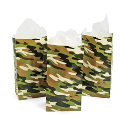CAMOUFLAGE PAPER BAGS