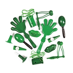 Green Noisemakers for Sale