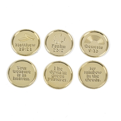 ST. PATRICK'S DAY VERSE COINS (144 PC)