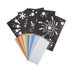 Firework Prism Sticker Dot Activities | Party Supplies