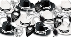 Cowboys & Cowgirls Assortment for 50 | Western New Year's Party Kit