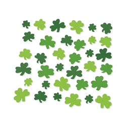 Adhesive Foam Shamrock Shapes | St. Patrick's Day Party Decorations