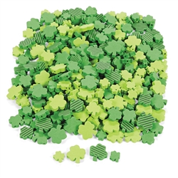 Foam St. Patrick's Day Shamrock Beads | St. Patrick's Day Party Supplies