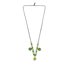 St. Patrick's Day Beaded Necklace Kit | Party Supplies