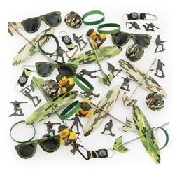 CAMOUFLAGE ASSORTMENT (50PC)