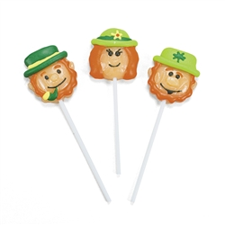 Leprechaun Character Suckers | St. Patrick's Day Party Favors