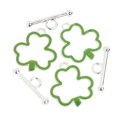 Shamrock Toggle Clasp | Party Supplies