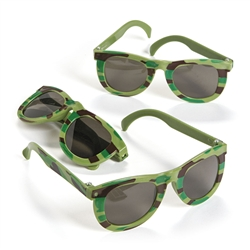 Camo Army Sunglasses | Party Supplies