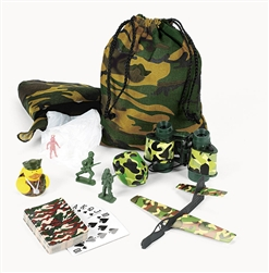 CAMO/ARMY FILLED TREAT BAG (PC)