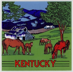 Kentucky Ceramic Tile | Kentucky Derby Party Decorations