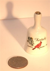 Mini Ceramic Bell | Kentucky Derby Party Supplies