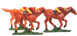 Plastic Horse and Jockey | Kentucky Derby Party Supplies