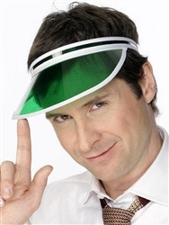 Green Gambler Visor | Kentucky Derby Party Supplies