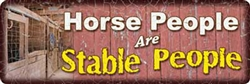 Horse People Sign | Kentucky Derby Party Supplies