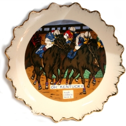 """Oh Kentucky"" Souvenir Plate 