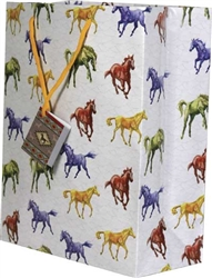Medium Horse Gift Bag | Kentucky Derby Supplies