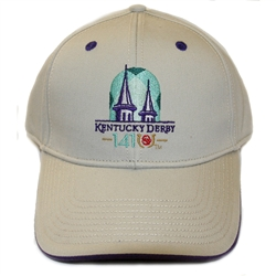 Kentucky Derby 141 Stone Ball Cap | Kentucky Derby Apparel