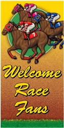 Day at the Races Giant Door Poster | Kentucky Derby Party Supplies