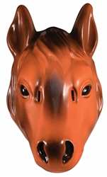 Plastic Horse Mask | Kentucky Derby Party Supplies