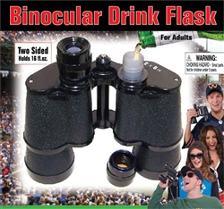 Double Flask Binocular | Kentucky Derby Party Supplies