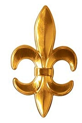 Fleur De Lis 3-D Plastic | Kentucky Derby Party Supplies