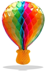 "14"" Tissue Hot Air Balloon 