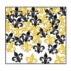 Fleur De Lis Confetti | Kentucky Derby Table Decorations | Mardi Gras Supplies