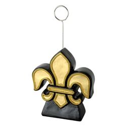 Fleur De Lis Photo/Balloon Holder | Kentucky Derby Table Decorations | Mardi Gras Party Supplies
