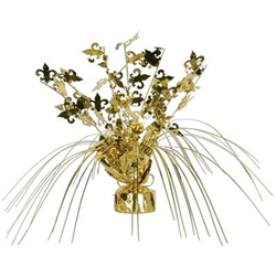 Fleur De Lis Centerpiece | Kentucky Derby Party Supplies | Mardi Gras Decorations