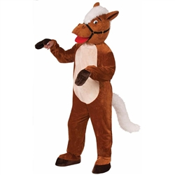 Henry the Horse Mascot Costume | Kentucky Derby Party Apparel
