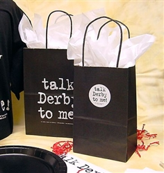 """Talk Derby To Me"" Large Gift Bag 