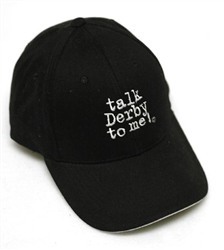 """Talk Derby To Me"" Ball Cap 