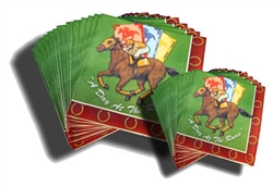 Day at the Races Lunch Napkins | Kentucky Derby Tableware
