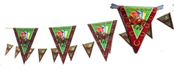 Day at the Races Pennant Banner | Kentucky Derby Party Supplies