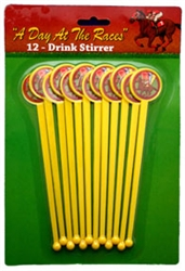 Day at the Races Stirrers | Kentucky Derby Party Supplies