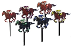 Horse and Jockey Yard Signs | Kentucky Derby Party Supplies